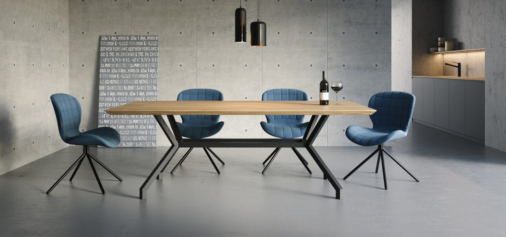 NORMAN scandinavian style dinig table  - take me HOME